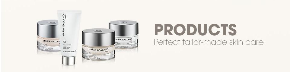 Maria Galland kosmetické produkty